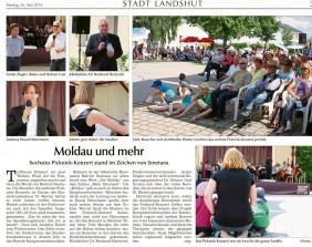 Picknickkonzert 2014 Landshuter Zeitung
