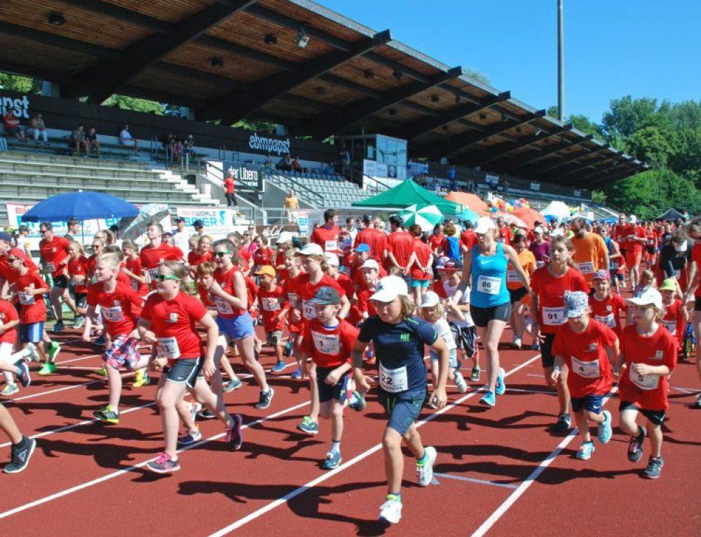 """Anmeldung ab sofort möglich: Aktion """"Laufen für kranke Kinder"""" am 8. Juli 2018"""