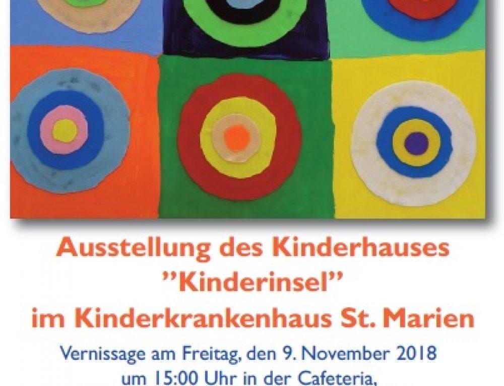 """Ausstellung der """"Kinderinsel"""""""
