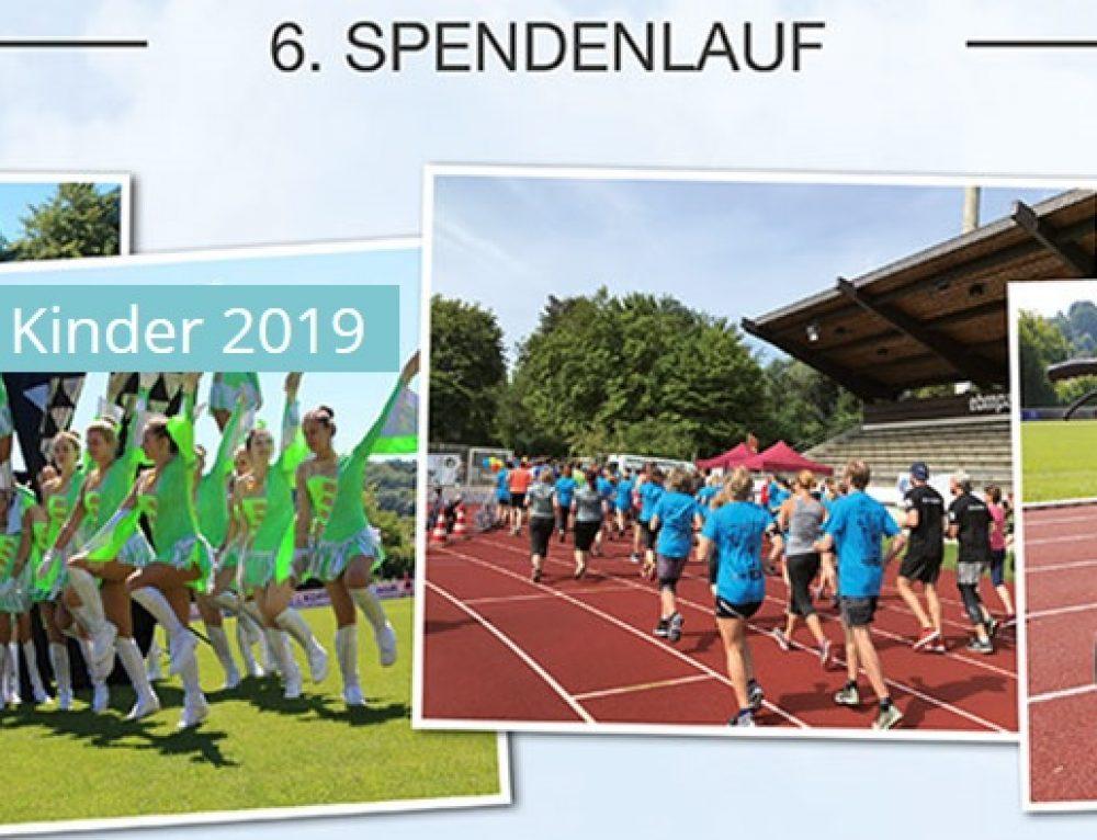 """""""Laufen für kranke Kinder"""" am 14. Juli 2019"""