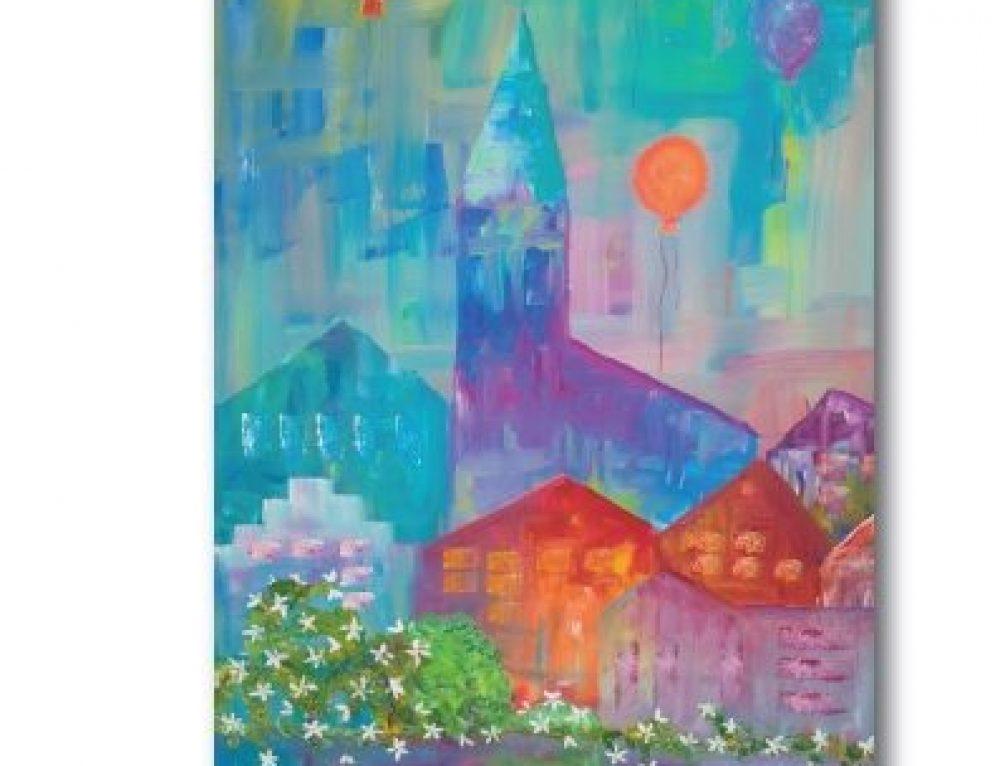"""Einladung zur Ausstellung """"Luftballon"""" bis 31. März 2020"""