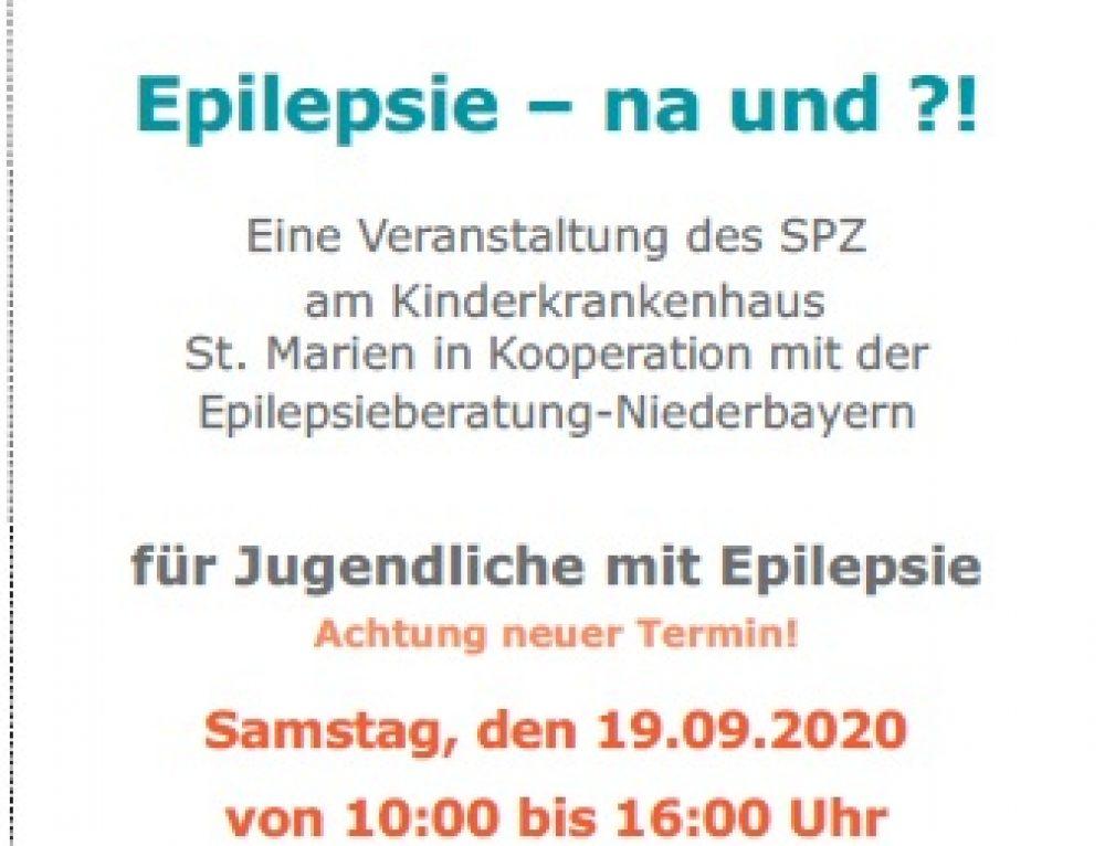 """Neuer Termin """"Epilepsie  – na und??"""""""