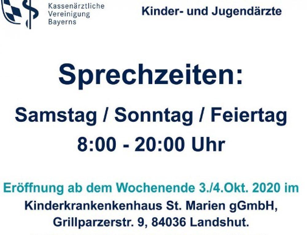 Info zur KVB-Bereitschaftspraxis ab Okt. 2020