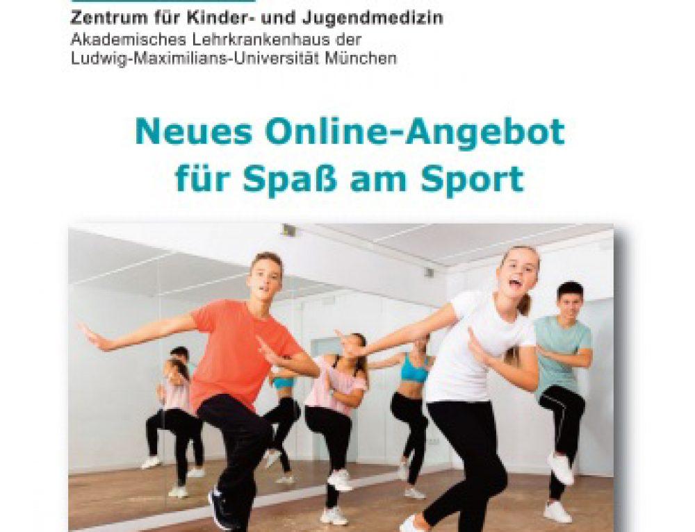 Neues Online-Sport-Angebot!